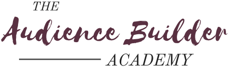 Audience Builder Academy Logo